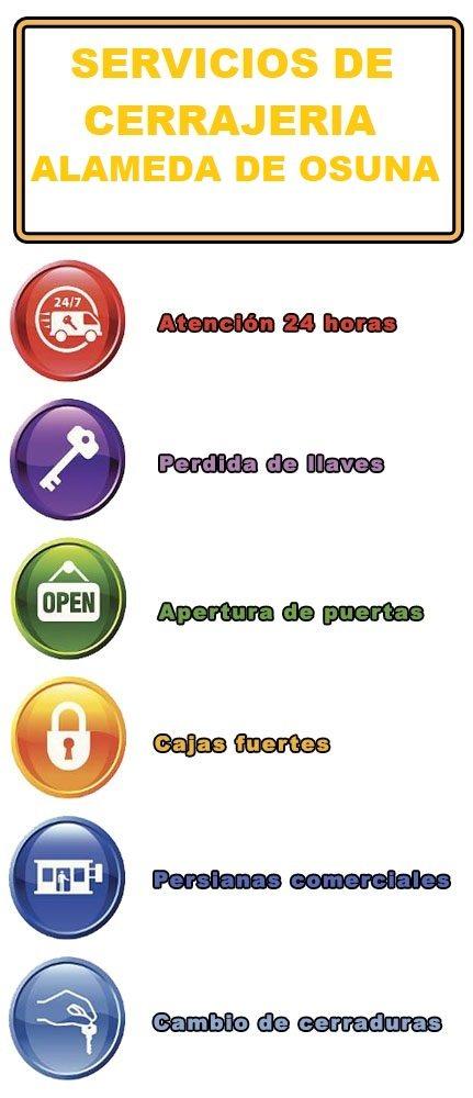 servicios de cerrajeria en alameda de osuna
